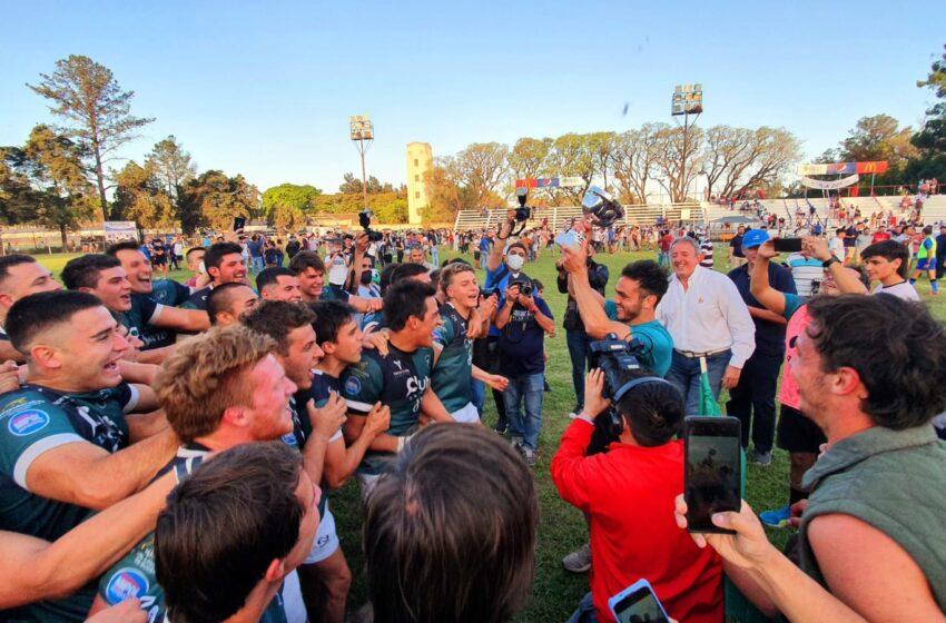Carácter y juego total: Tucumán Rugby se sacó las ganas ante Natación y es campeón
